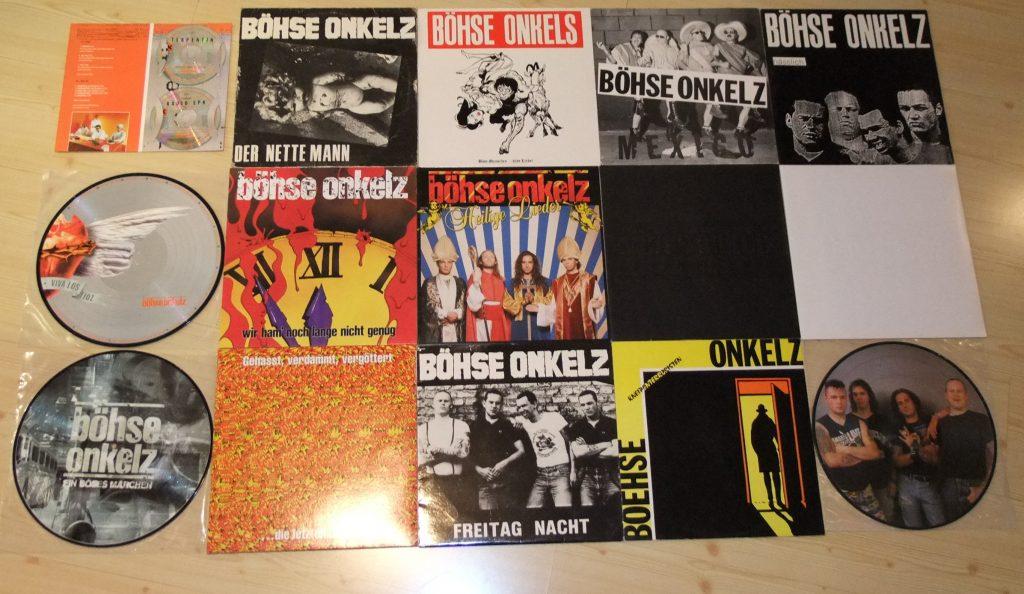 Teile aus unserer Onkelz-Sammlung