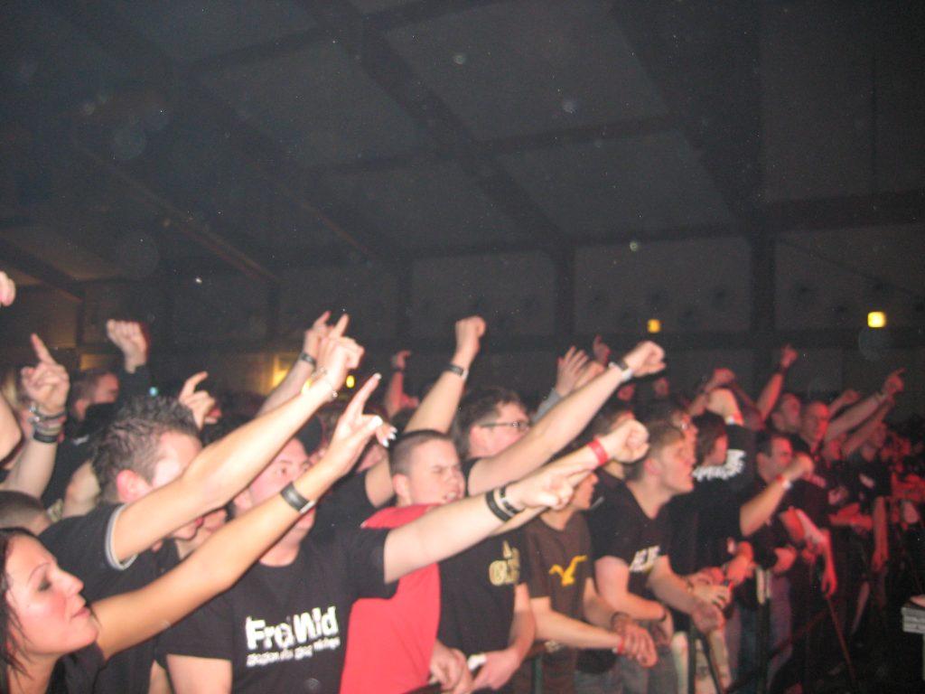 Publikum und Zuschauer